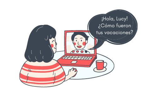 Online Spanish lessons